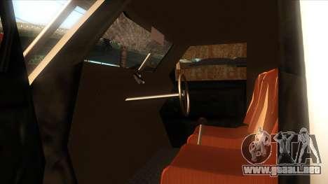 el que para GTA San Andreas vista posterior izquierda