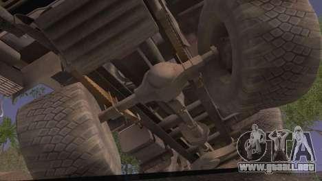 KamAZ 43101 para la visión correcta GTA San Andreas