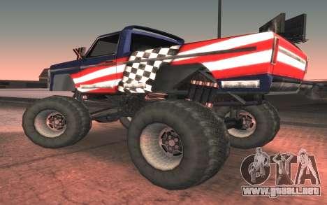 Nuevas texturas Monstruo Final para GTA San Andreas left