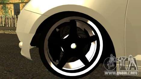 Alfa Romeo Mito Tuning para visión interna GTA San Andreas