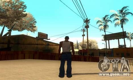 ENB Series por medio de la PC para GTA San Andreas sucesivamente de pantalla