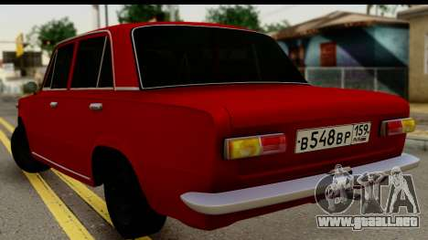 VAZ 2101 FOX para GTA San Andreas left