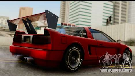 Tuned Infernus para GTA San Andreas left