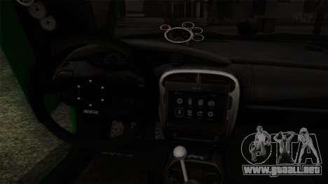 Dodge Neon SRT-4 Custom 2006 para la visión correcta GTA San Andreas