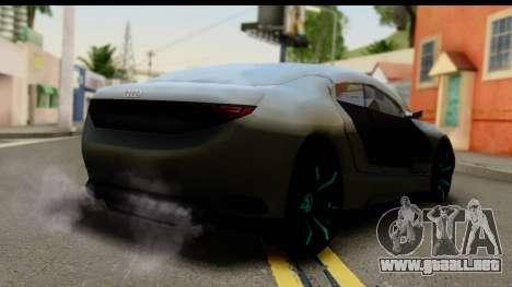 Audi A9 Concept para GTA San Andreas left