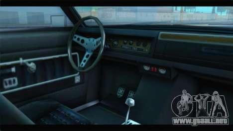 GTA 5 Benefactor Glendale Special IVF para la visión correcta GTA San Andreas