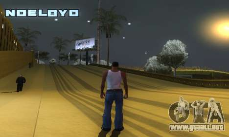 ENB Series v077 Light Effect para GTA San Andreas quinta pantalla