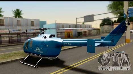 MBB Bo-105 KLM para GTA San Andreas left