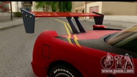 Tuned Infernus para la visión correcta GTA San Andreas