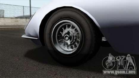 GTA 5 Grotti Stinger v2 IVF para GTA San Andreas vista posterior izquierda