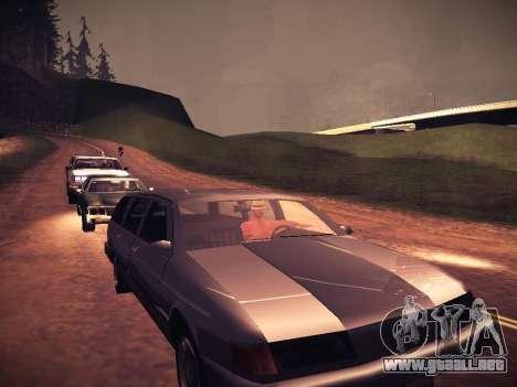 ENB Caramelo para GTA San Andreas sucesivamente de pantalla