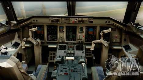 Embraer 175 PLL LOT Retro para la visión correcta GTA San Andreas