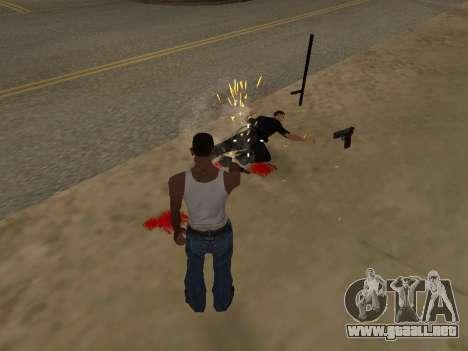 Sobredosis efectos (sin polvo) para GTA San Andreas tercera pantalla