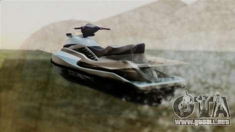 Seashark from GTA 5 para GTA San Andreas left