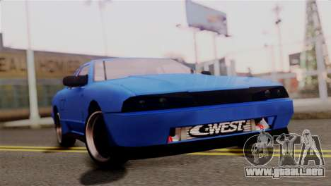 Elegy Full Customizing para GTA San Andreas