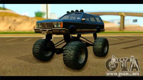 Monster Regina para GTA San Andreas