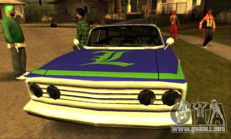 Luni Voodoo para visión interna GTA San Andreas