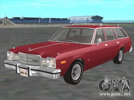 Plymouth Volare Wagon 1976 para GTA San Andreas
