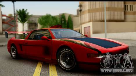 Tuned Infernus para GTA San Andreas
