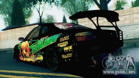 Nissan Silvia S15 Itasha para GTA San Andreas left