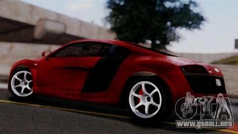 Audi R8 V10 v1.0 para GTA San Andreas left