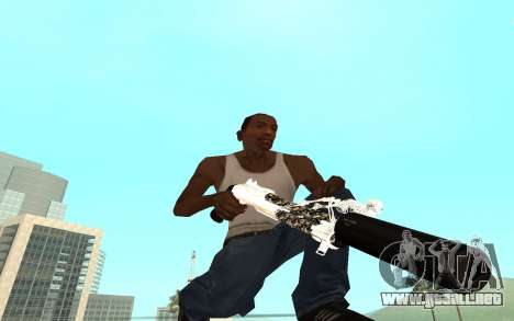 Skeleton Weapon Pack para GTA San Andreas sexta pantalla