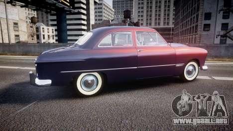 Ford Custom Tudor 1949 v2.2 para GTA 4 left