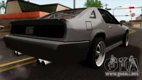 Buffalo Supercharged para GTA San Andreas