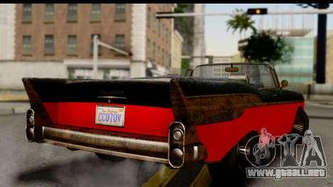 GTA 5 Declasse Tornado Worn IVF para GTA San Andreas left