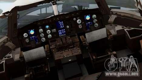 Boeing KC-767 Japan Air Self-Defense Force para GTA San Andreas vista hacia atrás