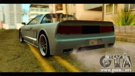 Infernus Rapide S para GTA San Andreas left