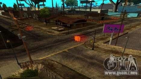 HQ Roads 2015 para GTA San Andreas sucesivamente de pantalla