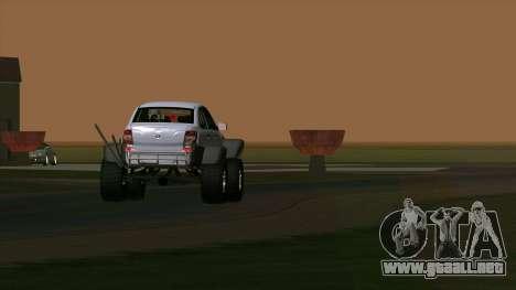 VAZ 2190 de la Subvención para visión interna GTA San Andreas