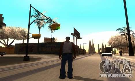 ENB Series por medio de la PC para GTA San Andreas segunda pantalla