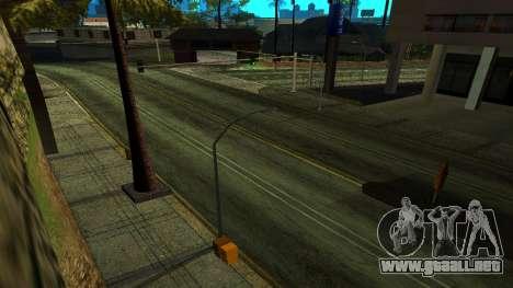 HQ Roads 2015 para GTA San Andreas tercera pantalla