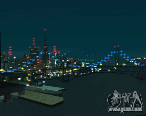 Project 2dfx 2.5 para GTA San Andreas sucesivamente de pantalla