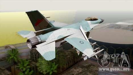 F-16C TNI Angkatan Udara para GTA San Andreas left