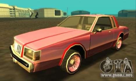 Majestic Restyle para las ruedas de GTA San Andreas