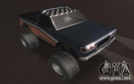 Nuevas texturas Monstruo Final para la visión correcta GTA San Andreas
