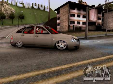 ВАЗ 2172 (Lada Priora) para GTA San Andreas left