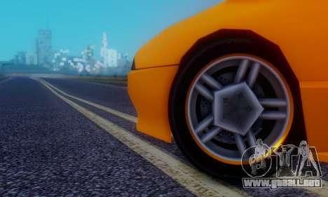 Elegy Hatchback v.1 para la vista superior GTA San Andreas