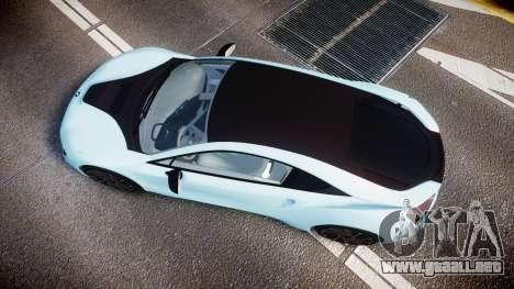 BMW i8 2013 para GTA 4 visión correcta
