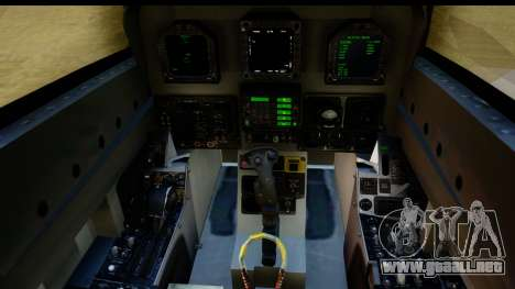 FA-18D VFA-103 Jolly Rogers para visión interna GTA San Andreas