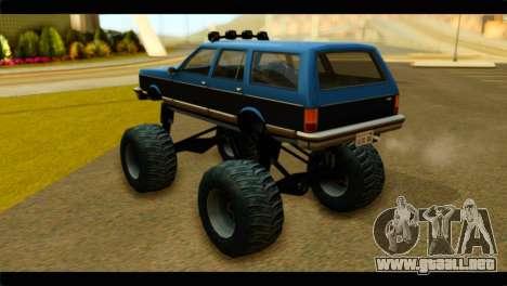 Monster Regina para GTA San Andreas left