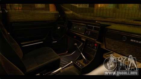 VAZ 21074 para la visión correcta GTA San Andreas