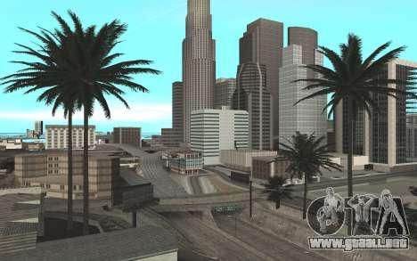 Colormod & ENBSeries para GTA San Andreas segunda pantalla