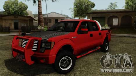 Ford F150 Off Road para GTA San Andreas