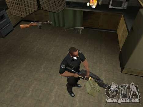 CABLE de Battelfield 2 para GTA San Andreas sucesivamente de pantalla