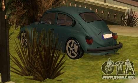 Volkswagen Beetle 1984 para GTA San Andreas left