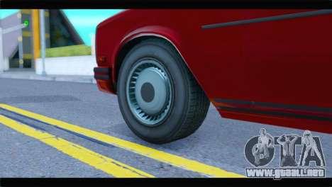 GTA 5 Benefactor Glendale Special IVF para GTA San Andreas vista posterior izquierda